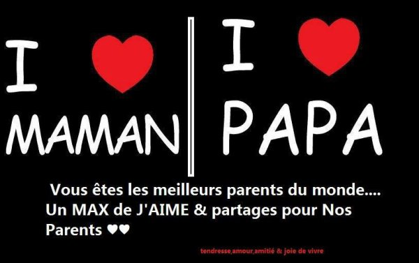 Pour Mes Parents